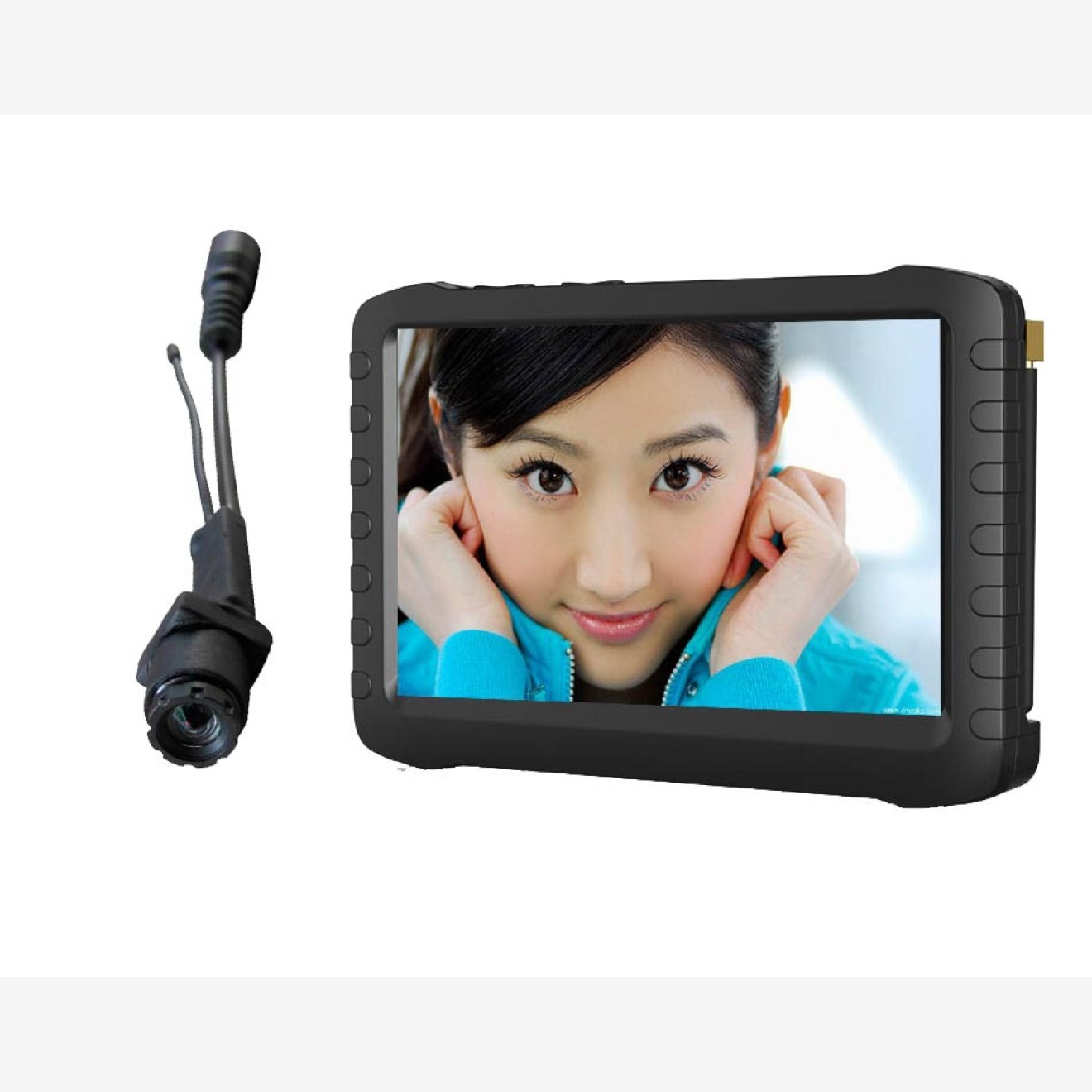 fpv komplettset portabler 5 zoll berry monitor mit 5 8 ghz funk kamera eagle 1. Black Bedroom Furniture Sets. Home Design Ideas